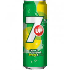 7up Aroma naturale di limone & lime