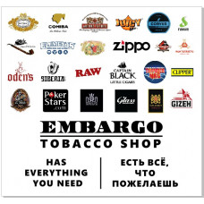 "Embargo Tobacco Shop (ТЦ ""Таш - Рабат"")"