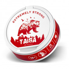 Снюс Taiga red Extremely Strong