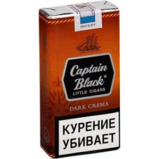 Сигариллы Captain Black Little Cigars Dark Crema