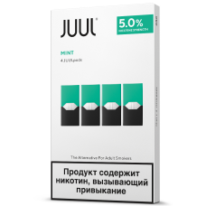 JUUL Pods - Cool Mint Pods 4 шт
